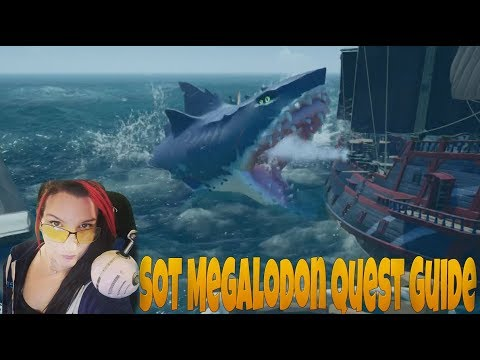 megalodon sea of thieves guide