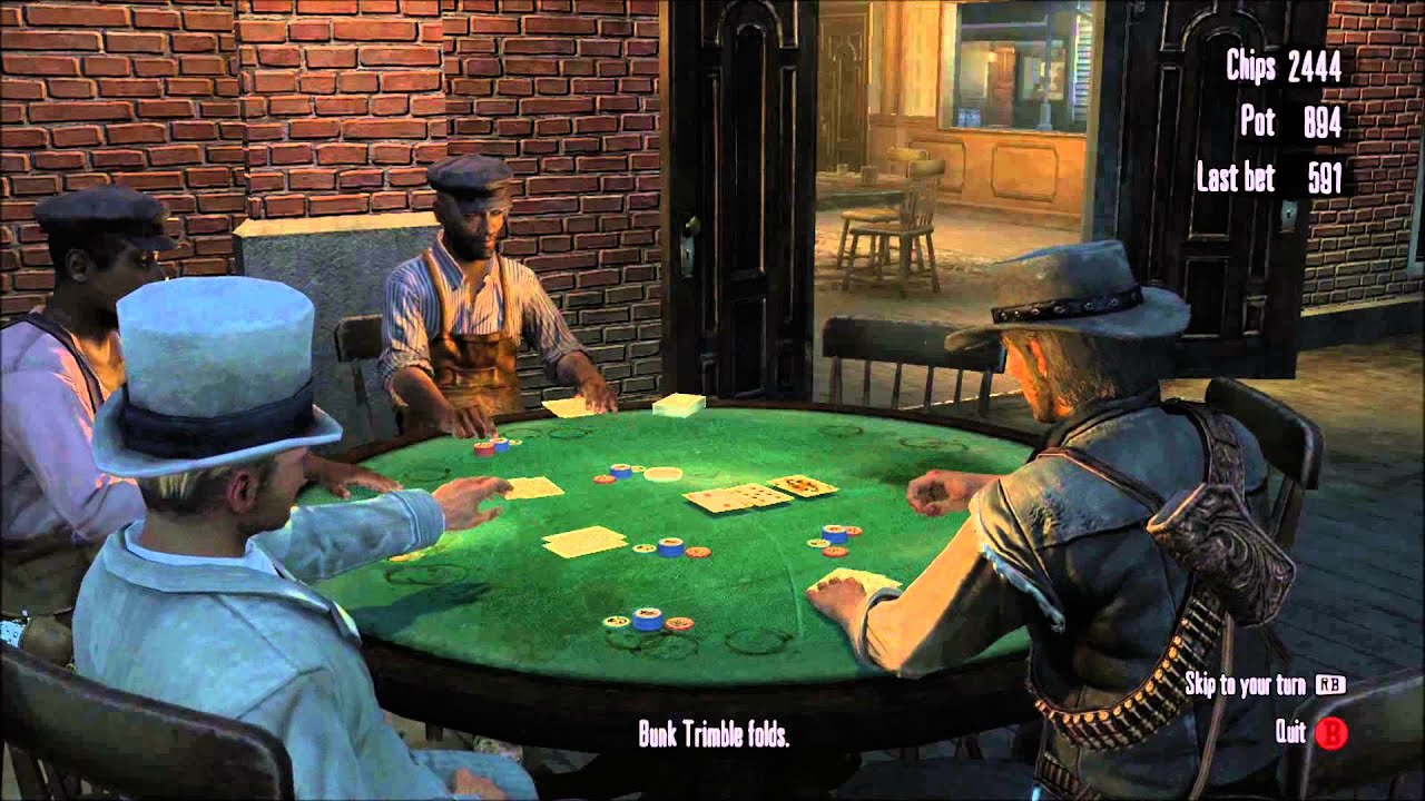 red dead redemption 2 first card game guide