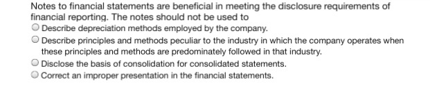 sample disclosure notes to financial statements